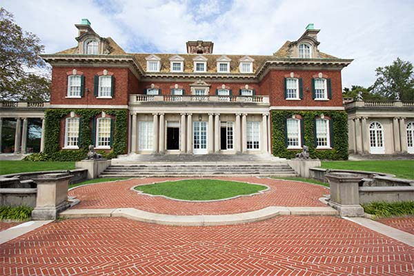 A large estate with classical architecture