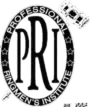 Professional Ringmen's Institute seal