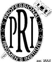 Professional Ringmen's Institute seal